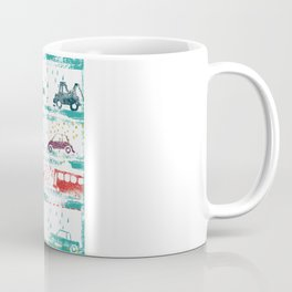 cars in the rain Coffee Mug