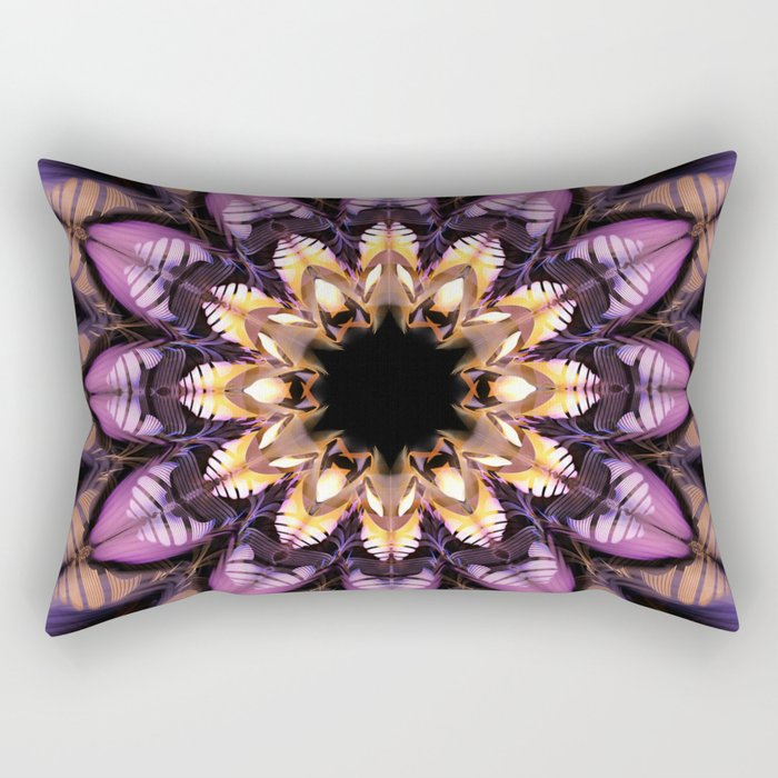 Artistic fantasy flower Rectangular Pillow
