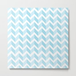 ERIN ((baby blue)) Metal Print