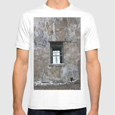 The Other Side White Mens Fitted Tee SMALL