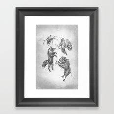 Paper Dance Framed Art Print