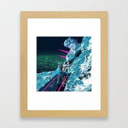 Ice Climbers Framed Art Print