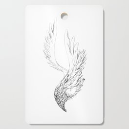 Wings to Descend Cutting Board