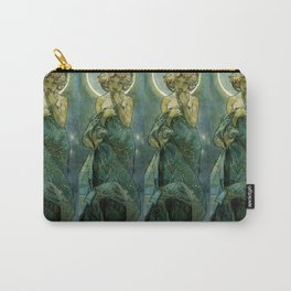"Alphonse Mucha ""The Moon and the Stars Series: The Moon"" Carry-All Pouch"