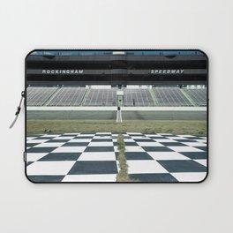 Rockingham Speedway Frontstretch Laptop Sleeve
