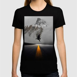 Magnetic Levitation - Power Mountain by GEN Z T-shirt
