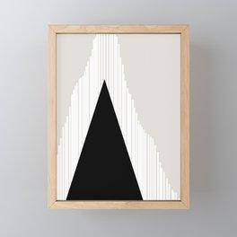 Abstract Mountain Framed Mini Art Print
