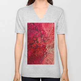 The Textures Of Mars Unisex V-Neck