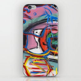 Self Reflectionism by Amos Duggan iPhone Skin