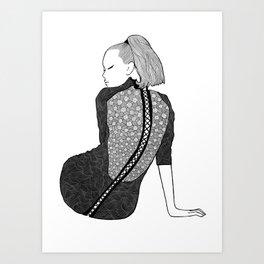 LA FEMME 13 Art Print