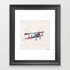 PLANE Framed Art Print