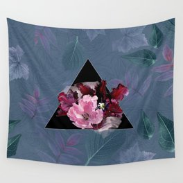Oxblood Tulips Wall Tapestry