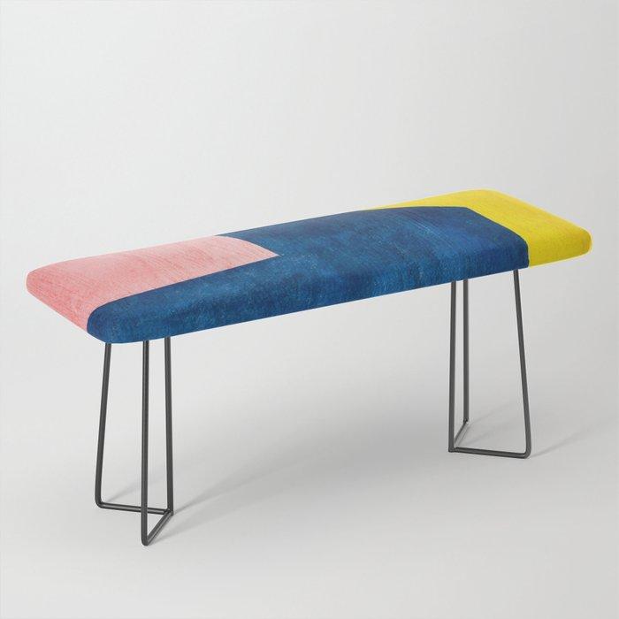 Abstracta #society6 #dormlife #dormdecor Bench
