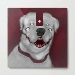 DAEMON DOG Metal Print