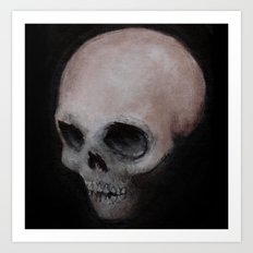 Bones X Art Print