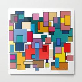 Color Blocks #6 Metal Print