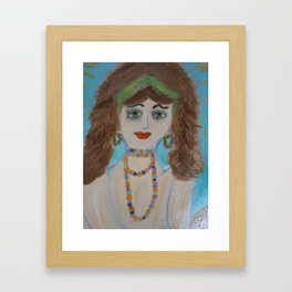 "Mermaids, ""Mariella"" Framed Art Print"