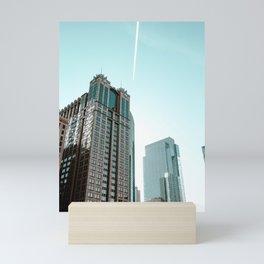 skyscrappers Mini Art Print