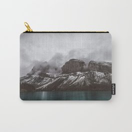 Landscape Maligne Lake Mountain View Photography | Alberta | Canada Carry-All Pouch