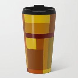 Abstract #385 Golden Harvest Travel Mug