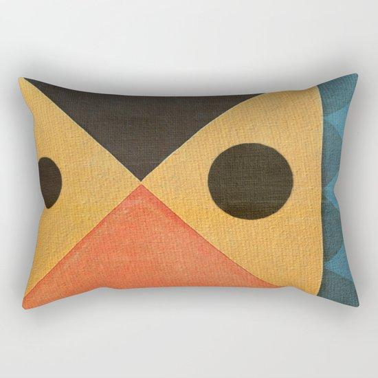 Fish Kisses Rectangular Pillow