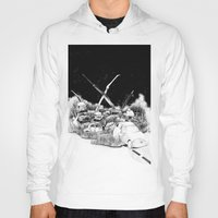 cars Hoodies featuring Cars by Andreas Derebucha