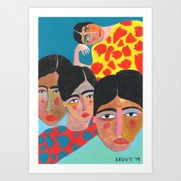 Moods Art Print