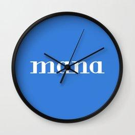 Mana Wall Clock