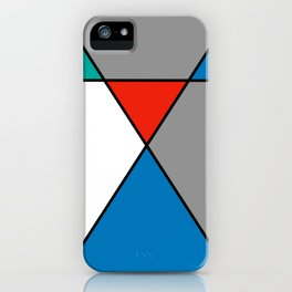Abstract 'Intersection' iPhone Case