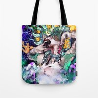 ursula Tote Bags featuring Ursula  by RDsix3