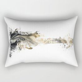 Blues Guitar Rectangular Pillow