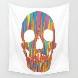 head of skeleton Wall Tapestry