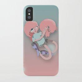 Axolotl girl  iPhone Case