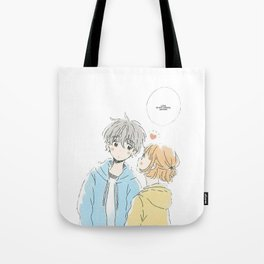 cute anime couple Tote Bag