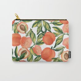 Peach Love Carry-All Pouch