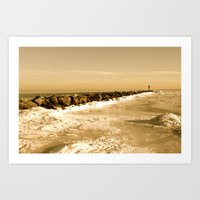 Great South Bay II Art Print