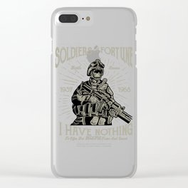 Soldiers Of Fortune Battle Heroes Clear iPhone Case