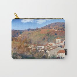 Village in autumn season Carry-All Pouch