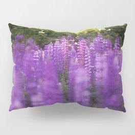 Bokeh Lupines Pillow Sham