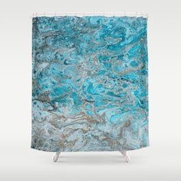 Beach Shallows 2 Shower Curtain