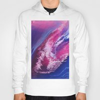 passion Hoodies featuring Passion by Lise Dumas Richard