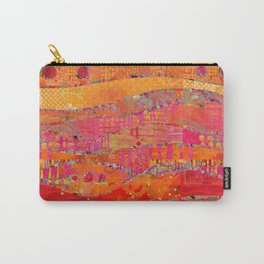 Firewalk Abstract Art Collage Carry-All Pouch