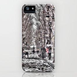Frozen boulevard iPhone Case