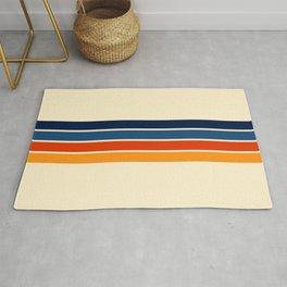 Mitsunari - Classic Retro Stripes Rug