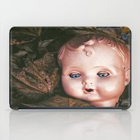 doll iPad Cases featuring Creepy Doll by Maria Heyens