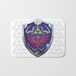 Link - Hyrule Shield - zelda Bath Mat