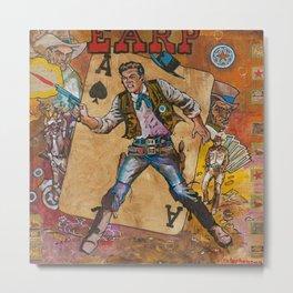 Wyatt Earp Metal Print