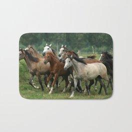 Arabian Horses Bath Mat