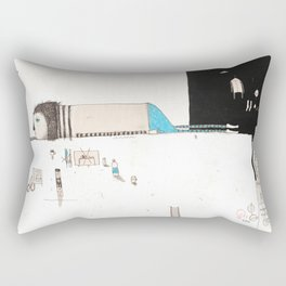 Forgive yourself and move on from your mistakes. Rectangular Pillow