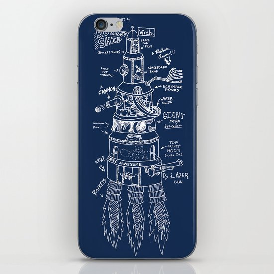 U.S.S. Awesome iPhone & iPod Skin
